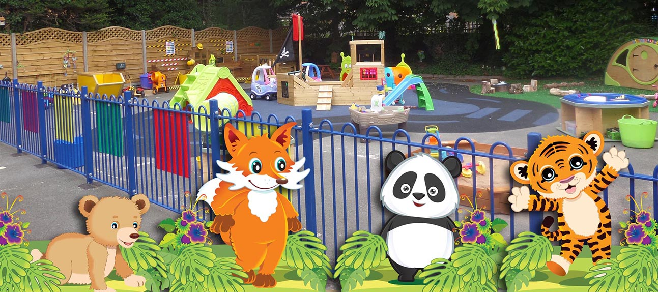 Little Cubs Day Nursery Outdoors