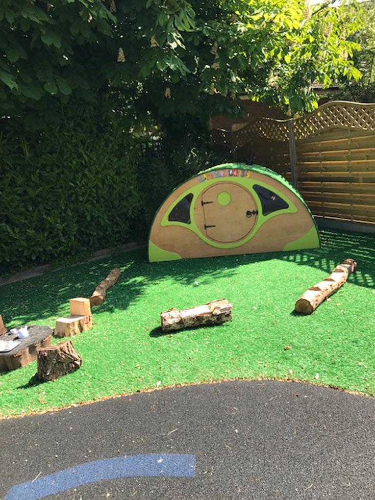Garden Amp Outdoor Play Little Cubs Nursery Kenilworth